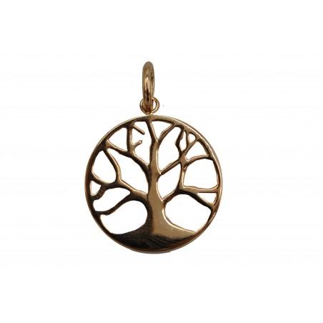 Médaille plaqué Or Arbre de Vie