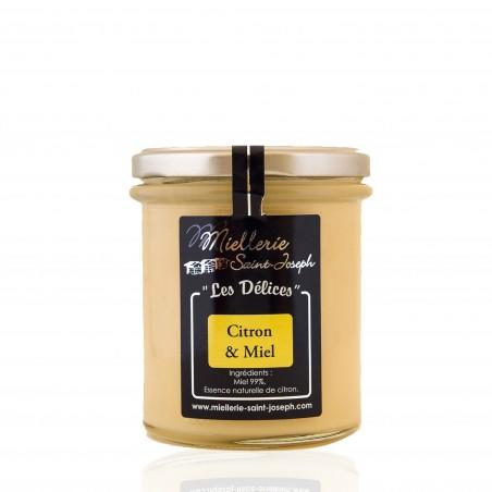 Délice citron et miel