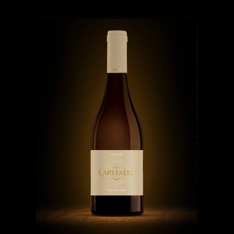Vin rosé de l'abbaye du barroux