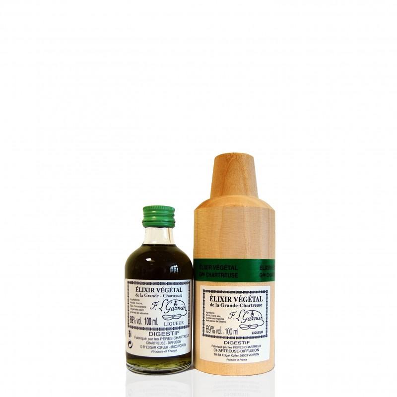 Elixir végétal - Chartreuse - 10cl 69° vol.