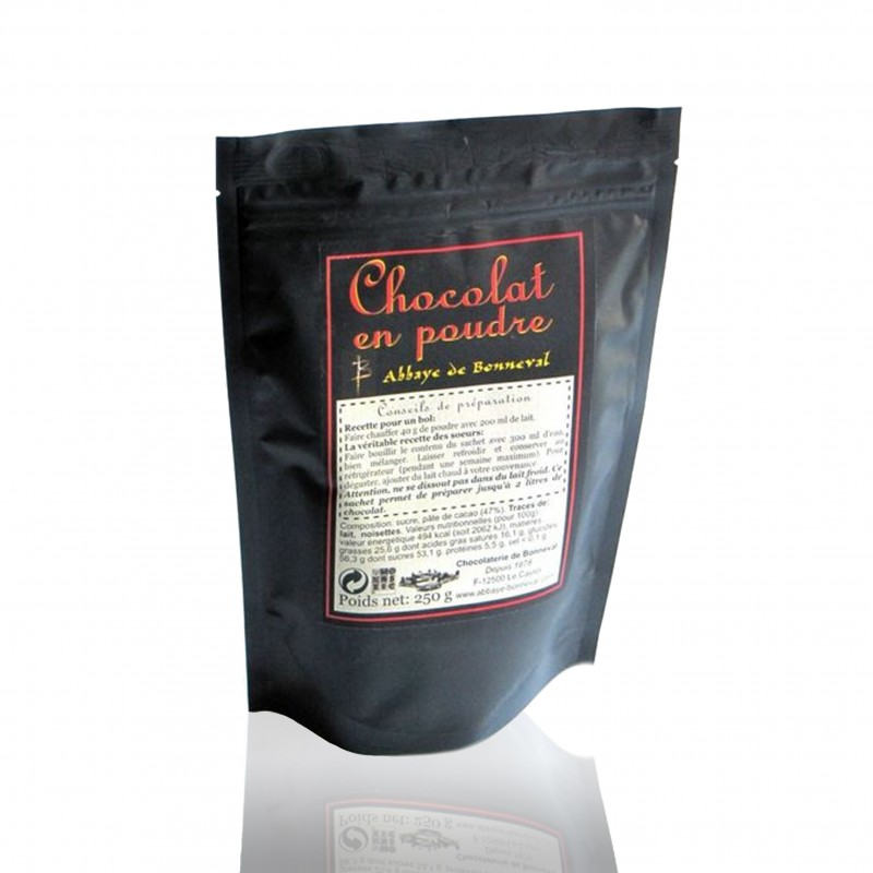 Chocolate powder from Bonneval Abbey