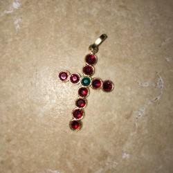 Swarovski croix bijoux cadeau