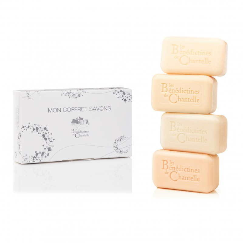 Box of 4 soaps 100g Cologne scent