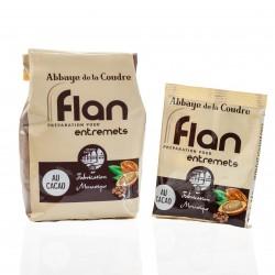Chocolate flan powder