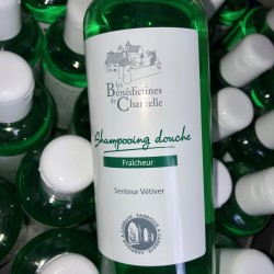 Hair cleansing gel and monastic body