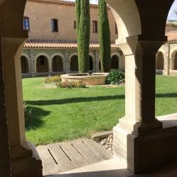 Barroux monastery france french wine producer