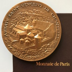 Médaille de Chantelle - Monnaie de Paris - Bronze collector