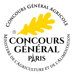 Gold medal national agricultural competition paris