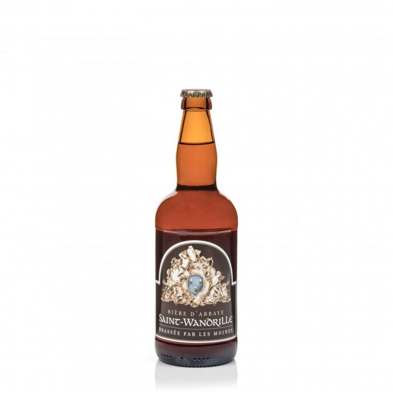 Bière St Wandrille blonde abbaye