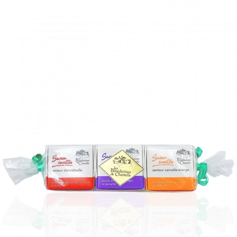 set of 6 moisturizing hand body soaps