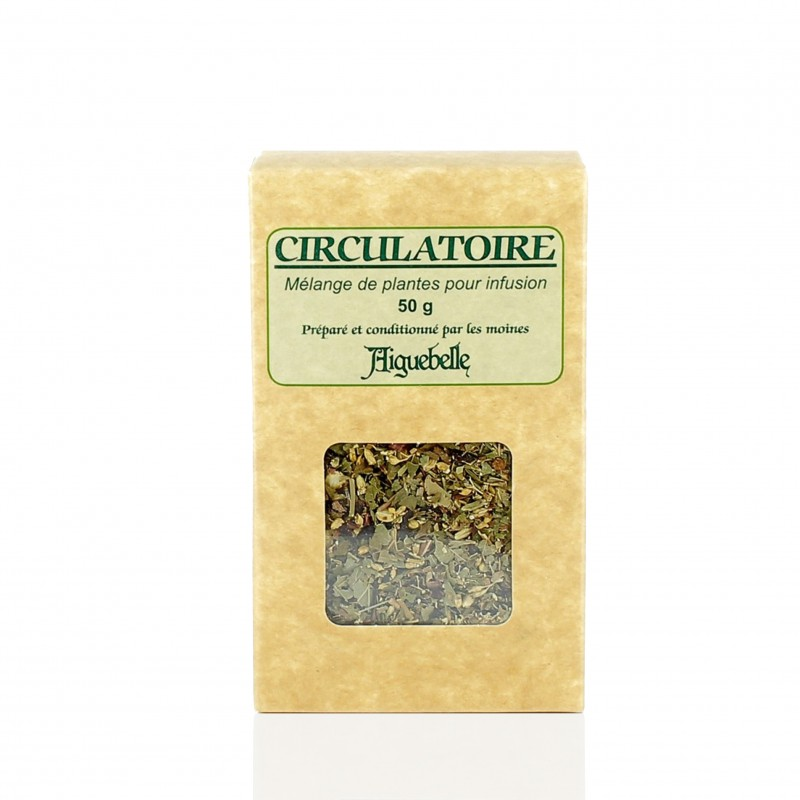 Circulatory herbal tea for heavy legs - Aiguebelle