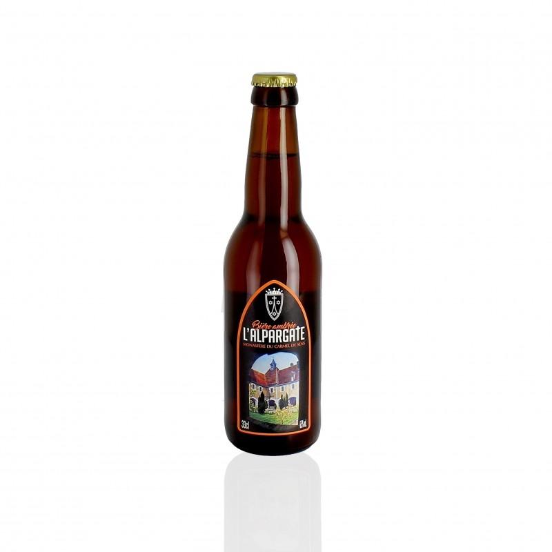 Bière l'Alpargate - Ambrée - Carmel de Sens