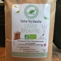 Organic Large Spelled Flour (T65)
