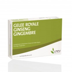 Gelée royale, ginseng, gingembre