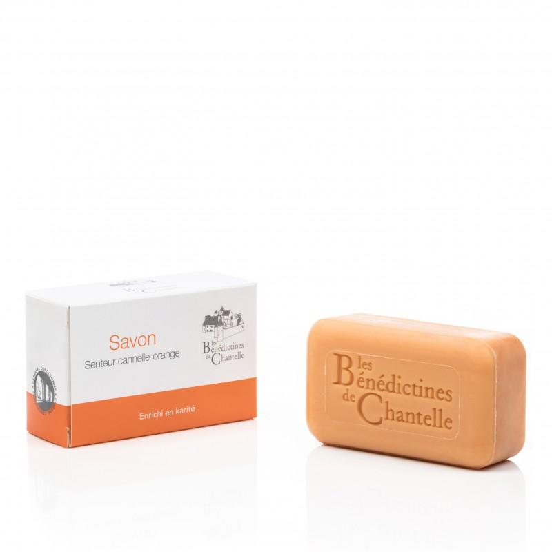 Cinnamon-Orange Soap - Enriched with Jojoba