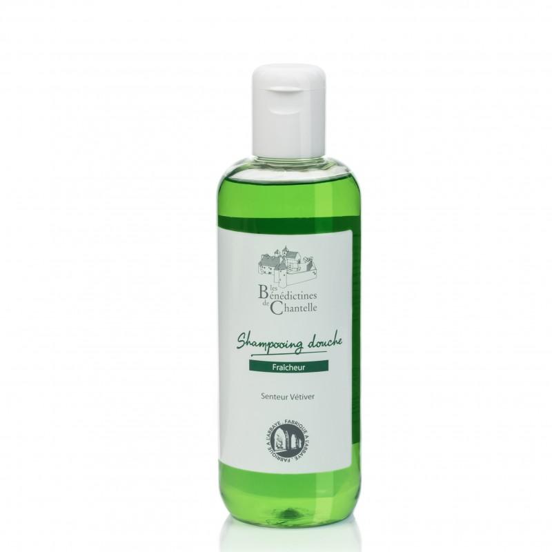 natural vetiver fresh shower shampoo