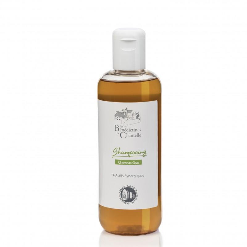 Shampoo cheveux gras actif naturel