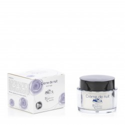 Moisturizing and anti-aging face night cream