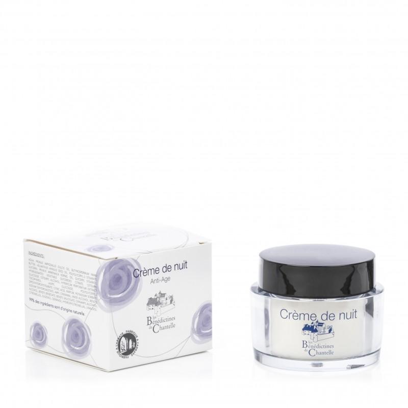 Moisturizing and anti-aging face night cream
