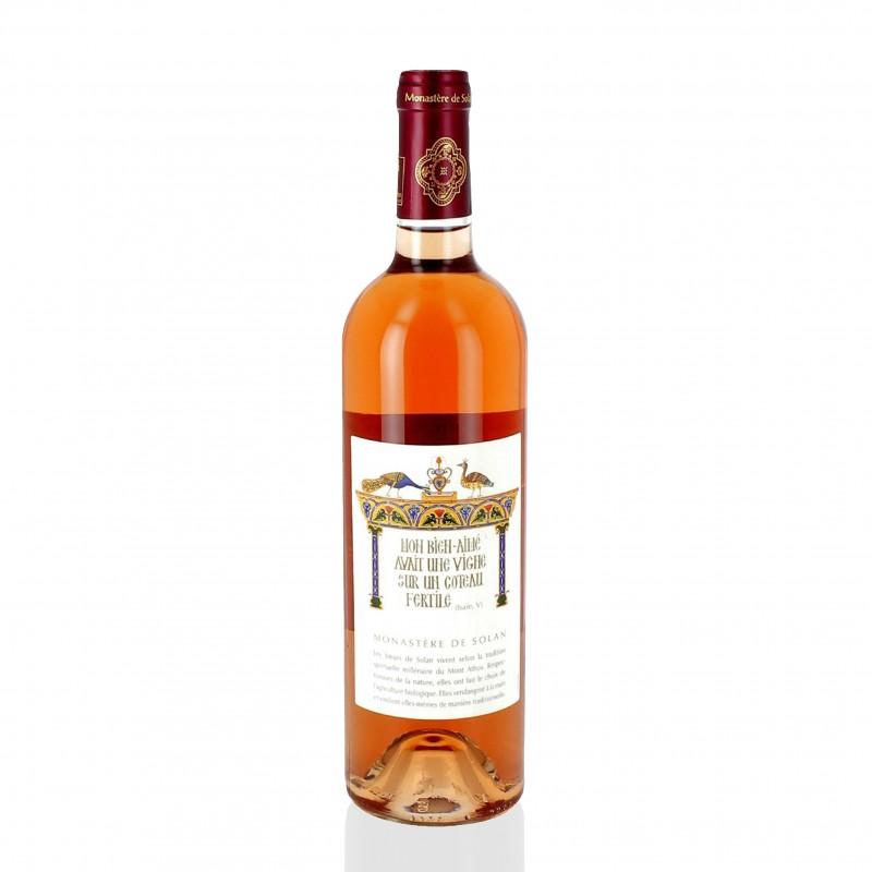 Organic rosé wine - My beloved ... - Monastery of Solan