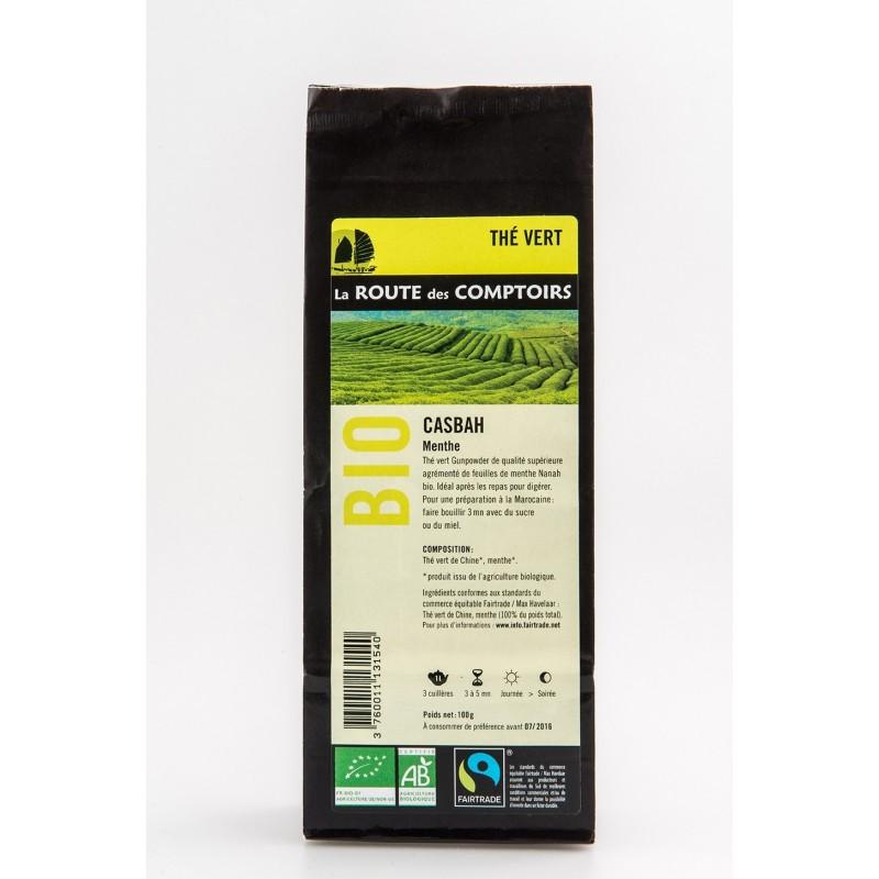 CASBAH - Organic Green Tea with Mint
