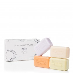 Classic scent soap set - lavender, wild rose, honeysuckle and cologne