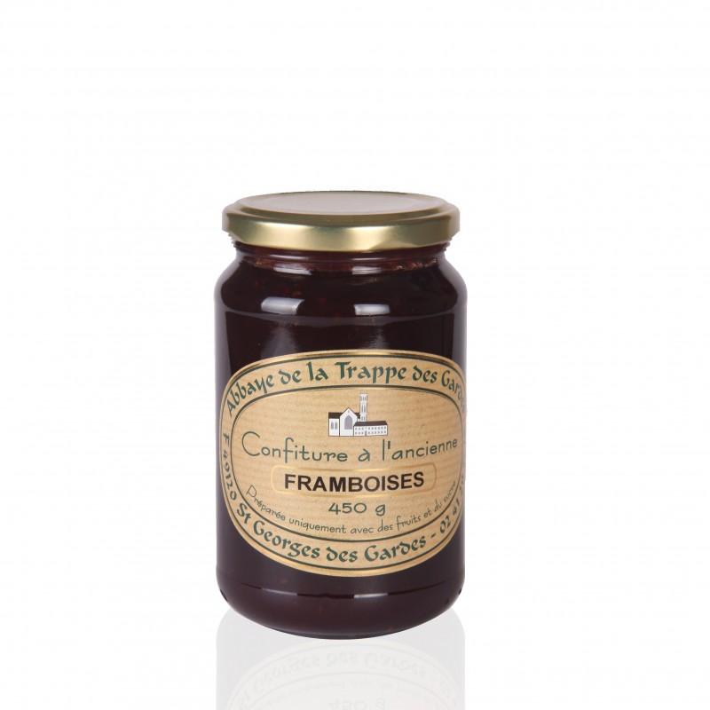 Raspberries jam - French Abbey Trappe des Gardes
