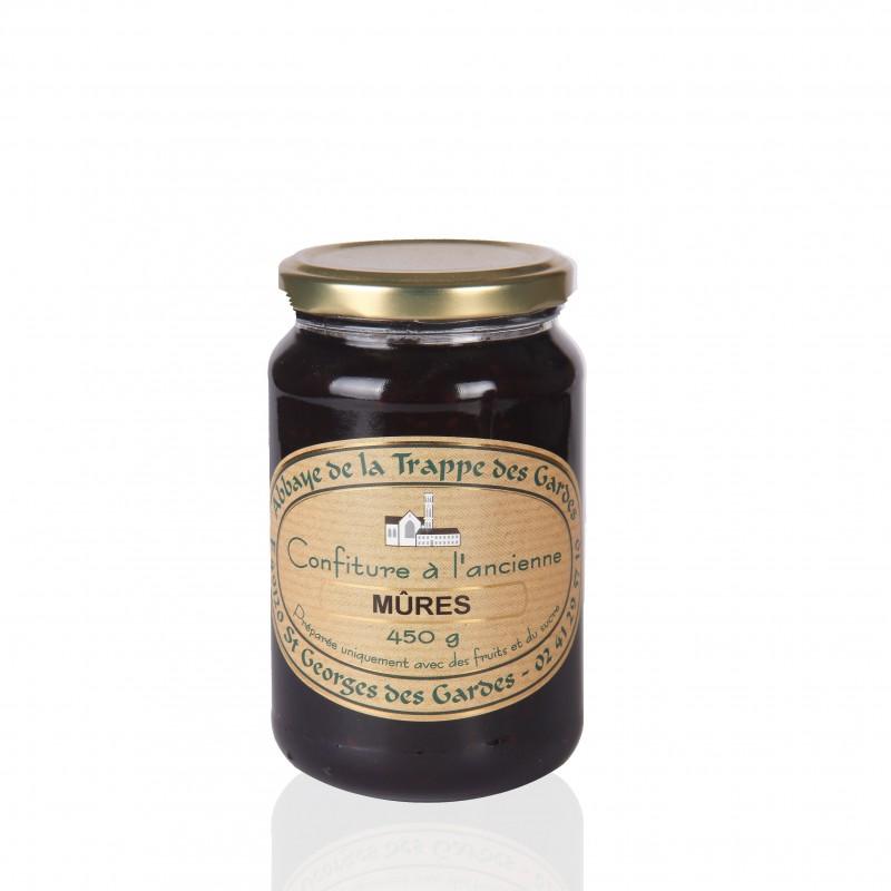 Blackberries jam - Monastery Trappe des Gardes