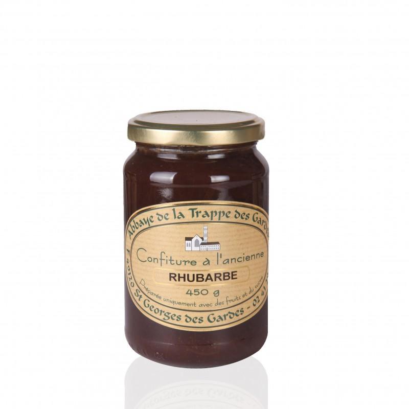 Artisanal Rhubarb jam - Abbey Trapp of the Gardes