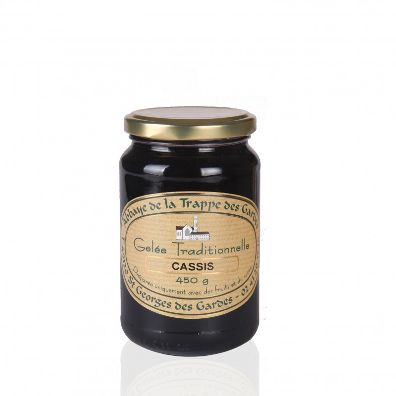 Artisan blackcurrant jelly - Notre Dame des Gardes Abbey