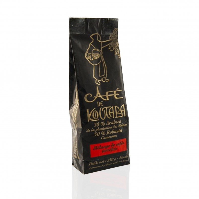 Pure Arabica coffee - Cameroonian monks