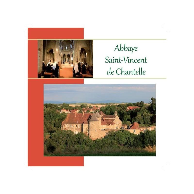 Plaquette abbaye Saint-Vincent de Chantelle