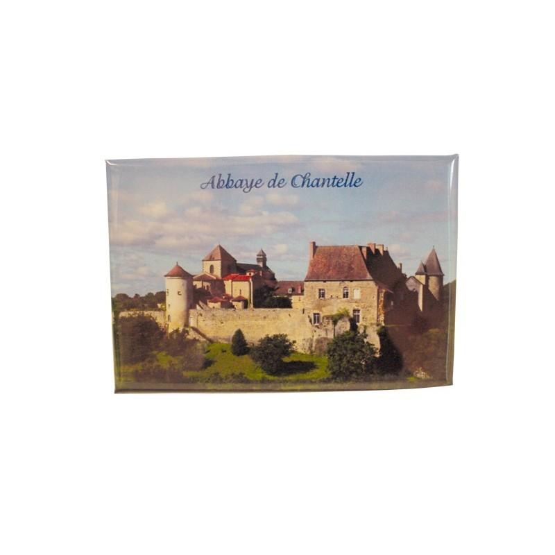 Magnet de l'Abbaye Saint-Vincent de Chantelle