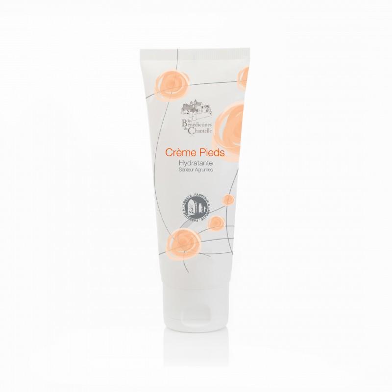 Crème réconfort pour les pieds senteur agrumes