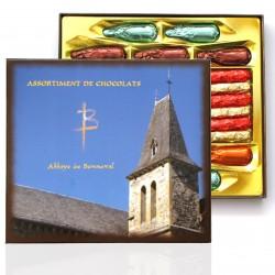 Boîte assortiment de Chocolats - Abbaye de Bonneval