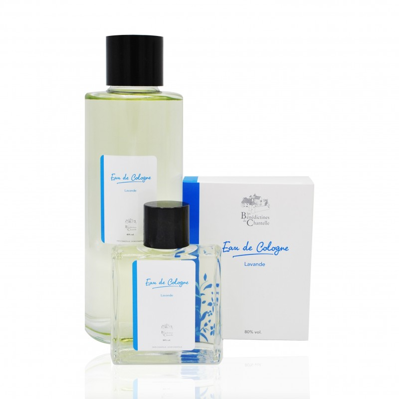 Eau de cologne made by monastic abbey. Made in France with love by the sisters of the abbey.
