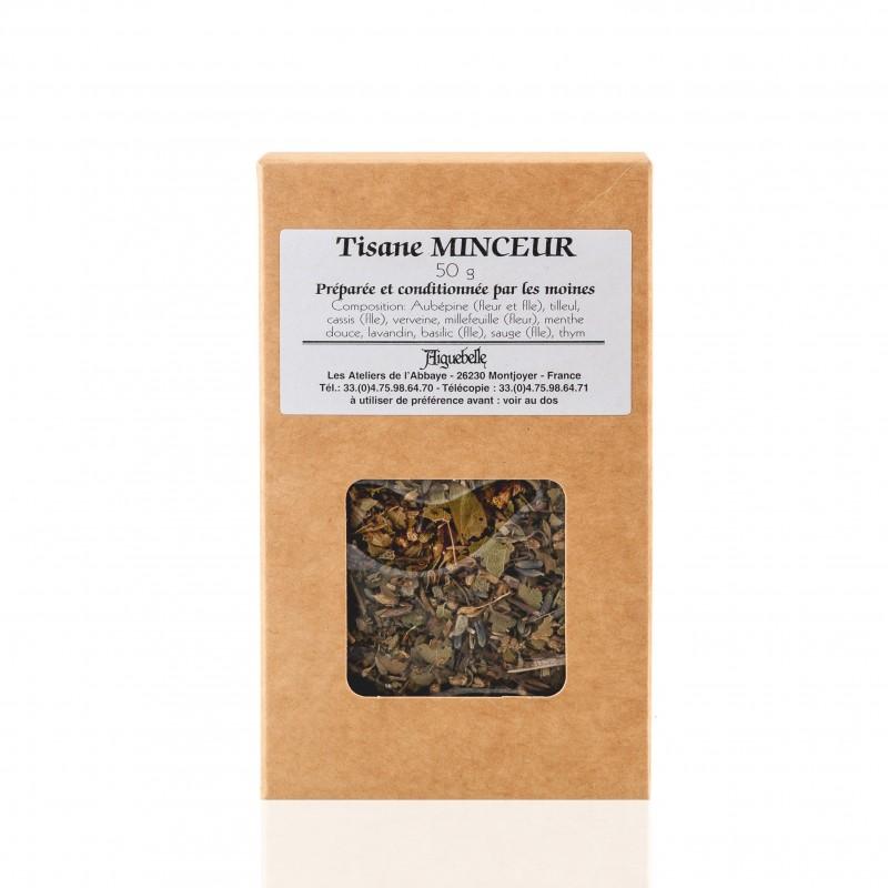 Relaxing herbal tea or well-being, depurative or slimming, monastic products or friends.