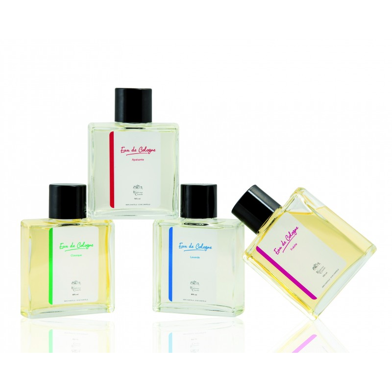 Perfumes, Eau de Cologne and natural eau de toilette with essential oils, developed in partnership with great Nose