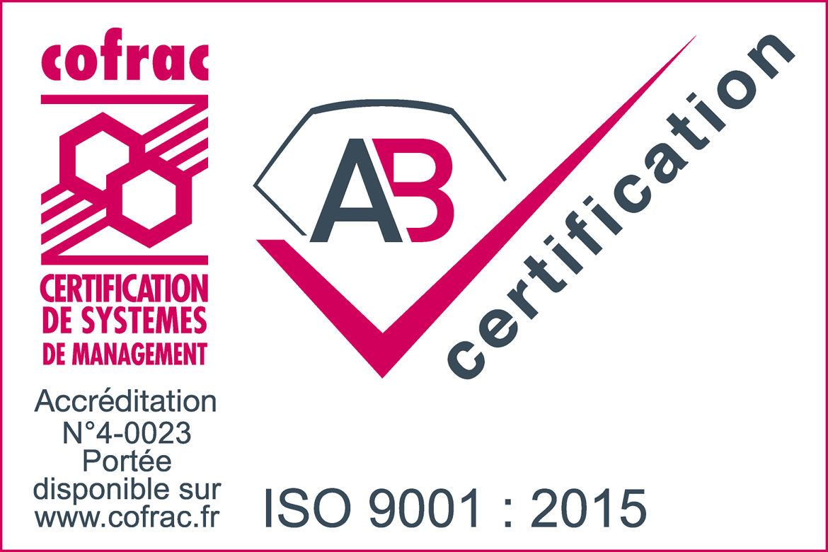 Certification ISO 900